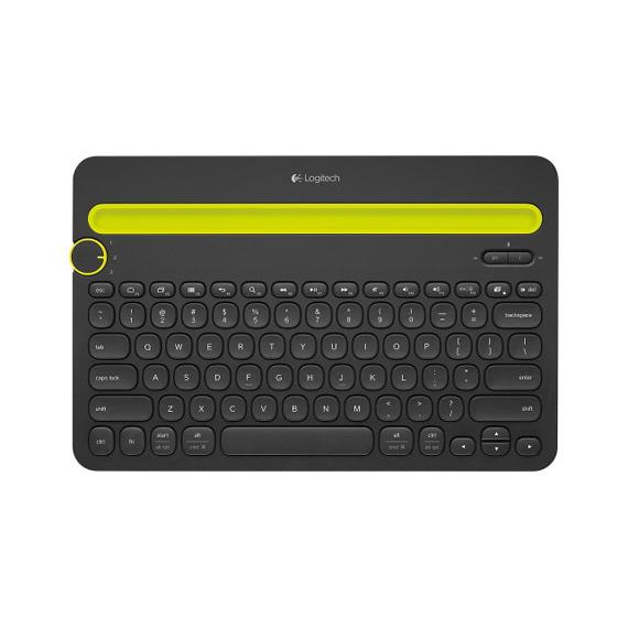 Bàn phím Logitech Bluetooth K480 (Đen)