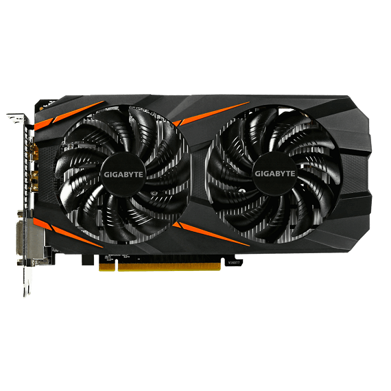 Card màn hình Gigabyte GeForce GTX 1060 WINDFORCE 6GB N1060WF2OC-6GD