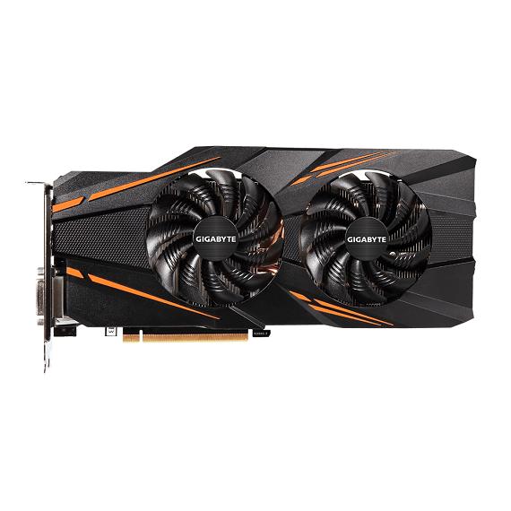 Card màn hình Gigabyte GeForce GTX 1070 WINDFORCE 8GB N1070WF2OC-8GD
