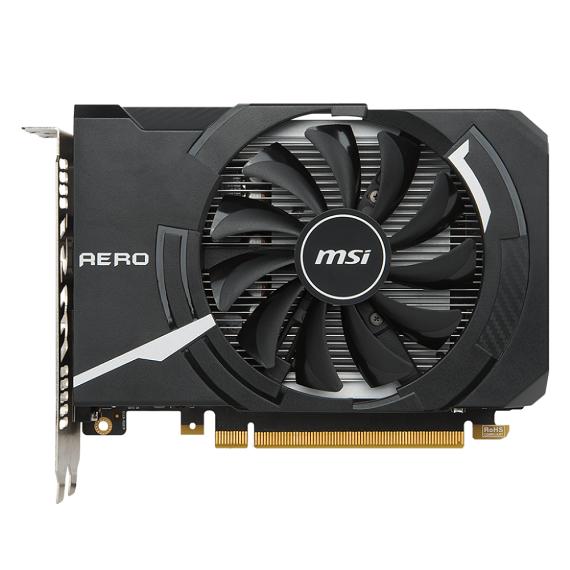 Card màn hình Msi GeForce GTX 1050 AERO ITX 2GB GTX1050 Aero 2G OCV1