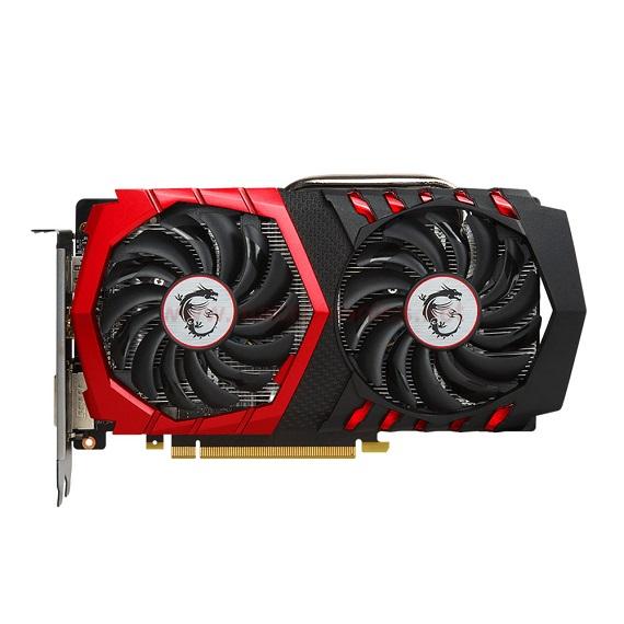 Card màn hình Msi GeForce GTX 1050 Ti 4GB GTX1050Ti Gaming X 4G