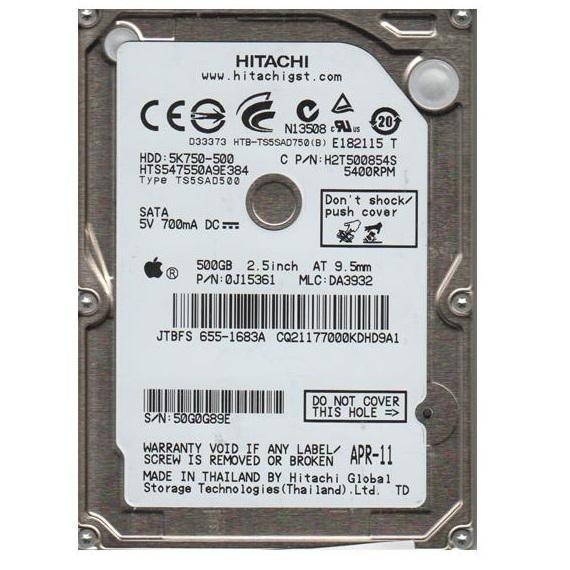 Ổ cứng Notebook HDD HGST 500GB 2.5 inch sata 3 (7200rpm)