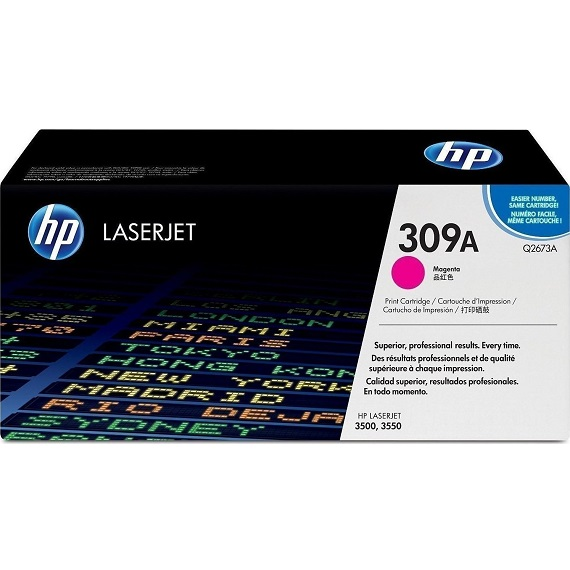 Mực in HP 309A (Q2673A) màu hồng dùng cho máy Laser màu HP 3500 / 3550