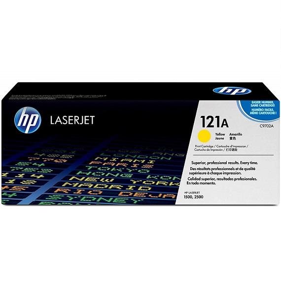 Mực in HP 121A (C9702A) màu vàng dùng cho máy in HP CLJ 2500 / 1500