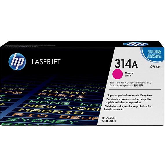 Mực in HP 314A (Q7563A) màu hồng dùng cho máy in HP Laser màu 2700 / 3000