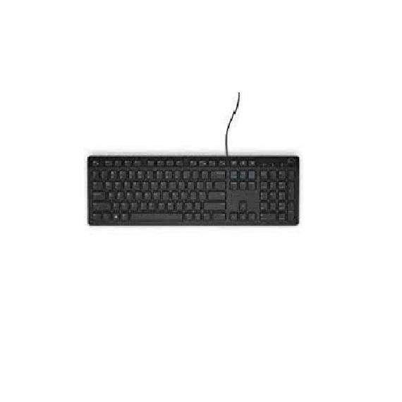 Bàn phím máy Vi Tính Keyboard Multimedia Dell K218-B Black