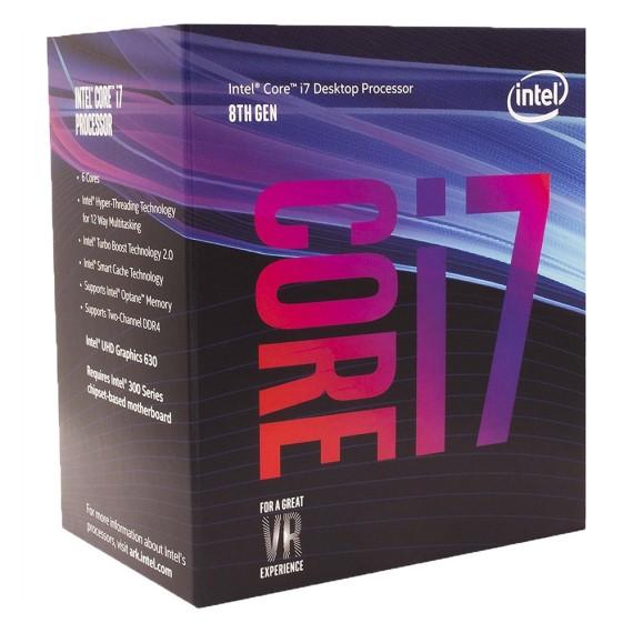 CPU Intel Core I7-8700 (3.2GHz)