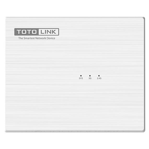 ROUTER WI-FI BĂNG TẦN KÉP CHUẨN AC1200 TOTOLONK A830R