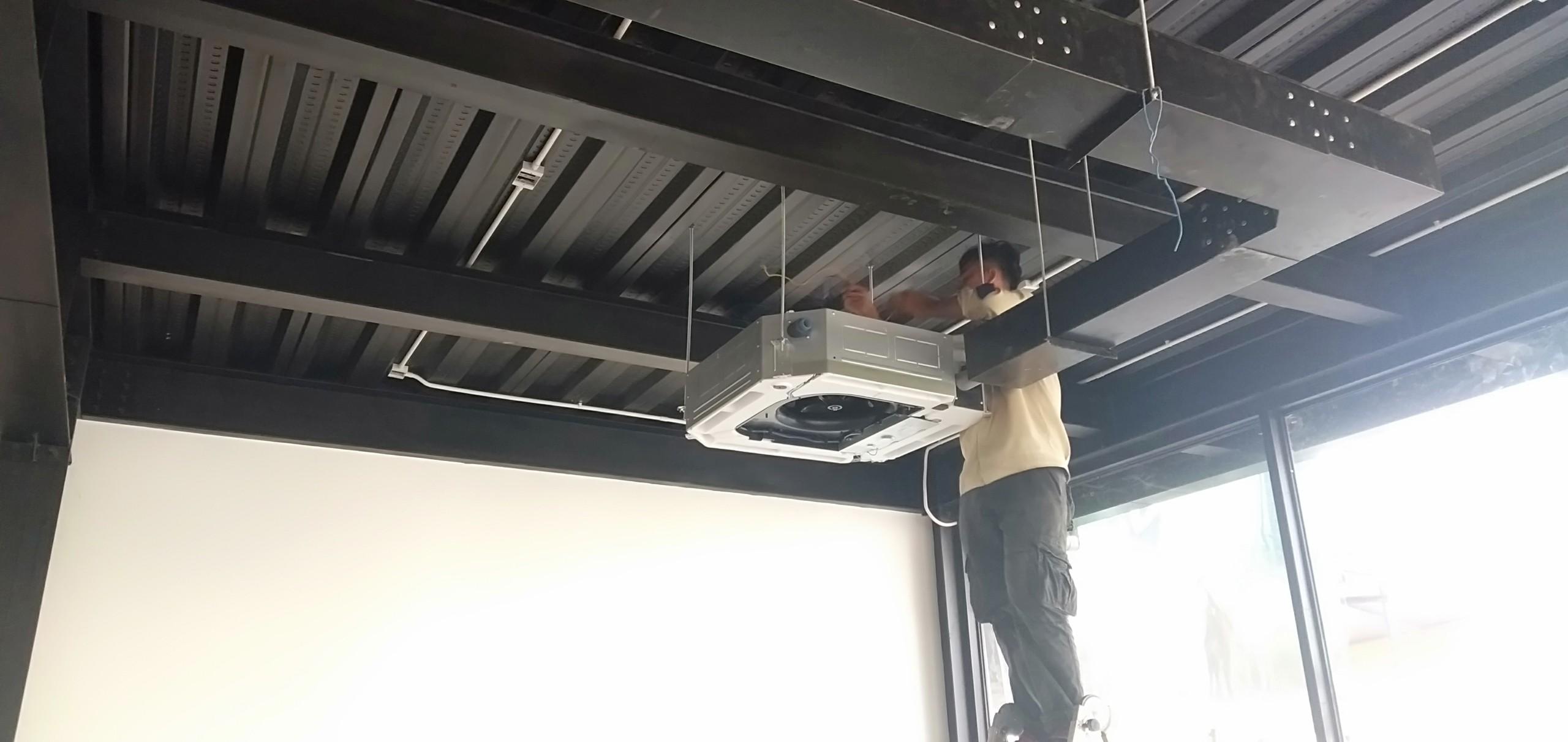 Hướng dẫn lắp đặt máy lạnh âm trần