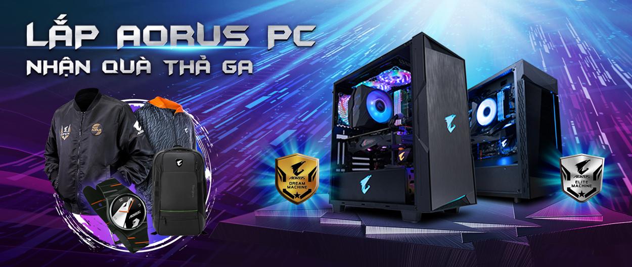 Lắp AORUS PC nhận quà thả ga